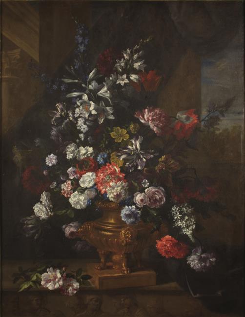 "<a class=""recordlink artists"" href=""/explore/artists/56911"" title=""Jean-Baptiste Monnoyer""><span class=""text"">Jean-Baptiste Monnoyer</span></a>"