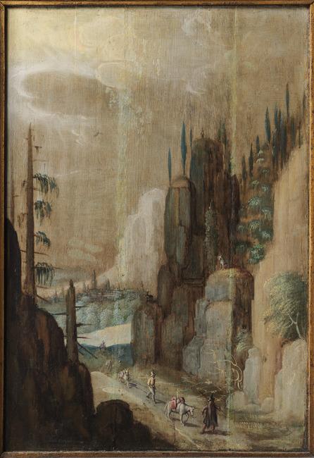"<a class=""recordlink artists"" href=""/explore/artists/468891"" title=""Antwerp Imitator of Rosenborg Castle""><span class=""text"">Antwerp Imitator of Rosenborg Castle</span></a> trant van <a class=""recordlink artists"" href=""/explore/artists/80246"" title=""Tobias Verhaecht""><span class=""text"">Tobias Verhaecht</span></a>"