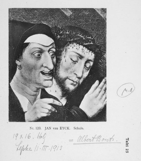 "toegeschreven aan <a class=""recordlink artists"" href=""/explore/artists/11603"" title=""Albrecht Bouts""><span class=""text"">Albrecht Bouts</span></a>"