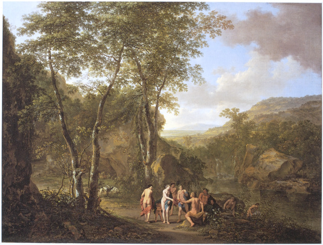 "<a class=""recordlink artists"" href=""/explore/artists/11239"" title=""Jan Both""><span class=""text"">Jan Both</span></a> en <a class=""recordlink artists"" href=""/explore/artists/63962"" title=""Cornelis van Poelenburch""><span class=""text"">Cornelis van Poelenburch</span></a>"