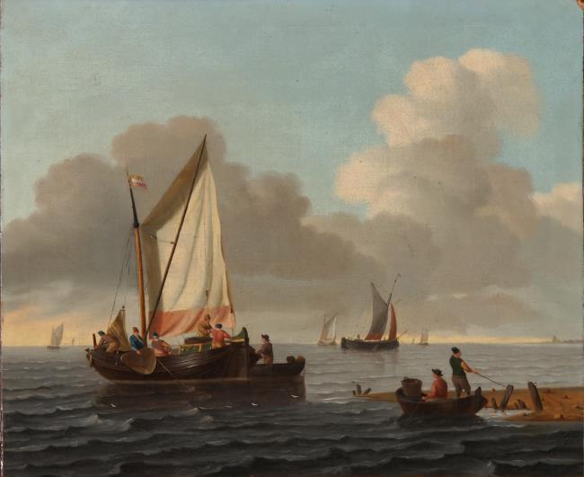"""<a class=""""recordlink artists"""" href=""""/explore/artists/1984"""" title=""""Anoniem""""><span class=""""text"""">Anoniem</span></a> <a class=""""thesaurus"""" href=""""/en/explore/thesaurus?term=29960&domain=PLAATS"""" title=""""Noordelijke Nederlanden (historische regio)"""" >Noordelijke Nederlanden (historische regio)</a> 18de eeuw manner of/after <a class=""""recordlink artists"""" href=""""/explore/artists/3414"""" title=""""Ludolf Bakhuizen""""><span class=""""text"""">Ludolf Bakhuizen</span></a>"""