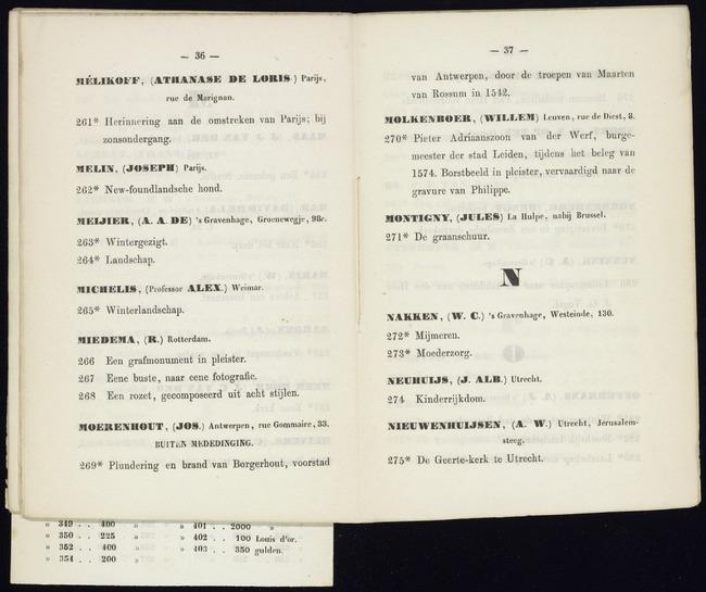 Miedema, Rein, catalogusnummer 268, Een rozet, gecomposeerd uit acht stijlen