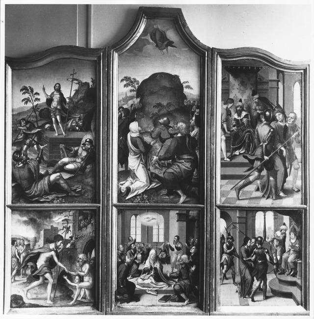 "follower of <a class=""recordlink artists"" href=""/explore/artists/17468"" title=""Pieter Coecke van Aelst (I)""><span class=""text"">Pieter Coecke van Aelst (I)</span></a>"