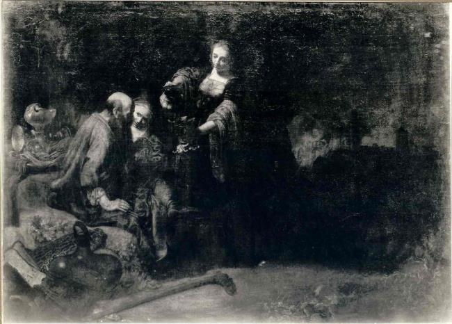"circle of <a class=""recordlink artists"" href=""/explore/artists/66219"" title=""Rembrandt""><span class=""text"">Rembrandt</span></a>"