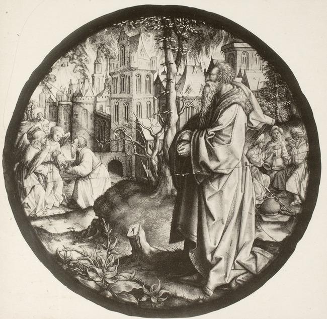 "after <a class=""recordlink artists"" href=""/explore/artists/18413"" title=""Jacob Cornelisz. van Oostsanen""><span class=""text"">Jacob Cornelisz. van Oostsanen</span></a> studio of <a class=""recordlink artists"" href=""/explore/artists/79854"" title=""Dirck Vellert""><span class=""text"">Dirck Vellert</span></a>"