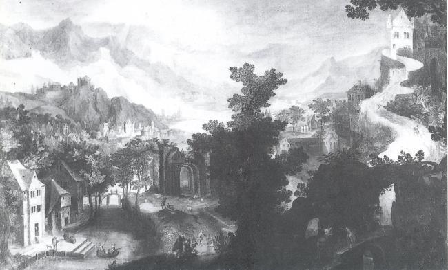 """naar <a class=""""recordlink artists"""" href=""""/explore/artists/17954"""" title=""""Gillis van Coninxloo (II)""""><span class=""""text"""">Gillis van Coninxloo (II)</span></a>"""