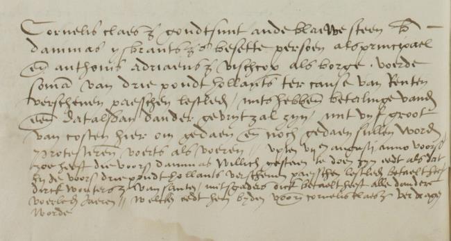 Leiden, 1545-08-03, Schepenbank (Oud Rechterlijk Archief), nummer toegang 0508, inv 42+20 (Wedboek 1545)