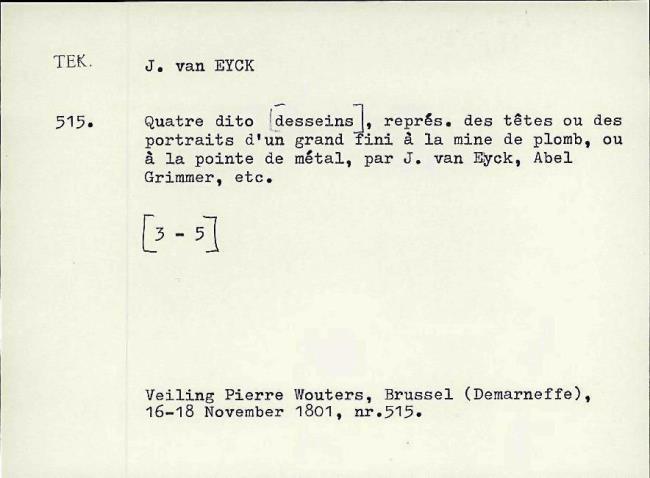Eyck, Jan van, card number 1145940