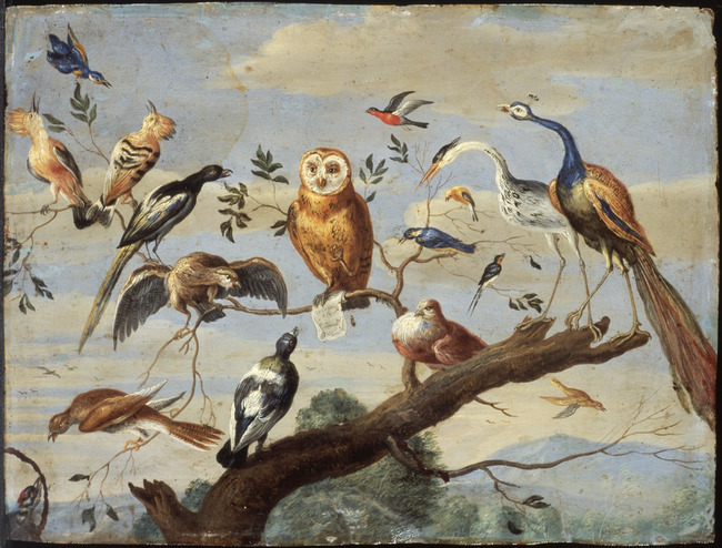 Jan van Kessel, Birds' concert