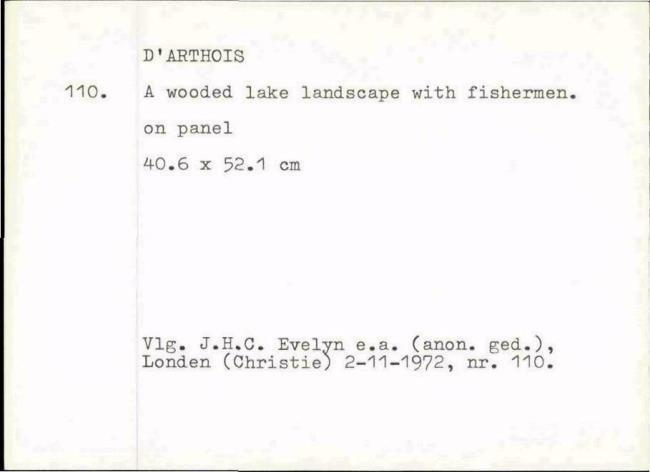 Arthois, Jacques d', box number 005