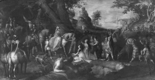 """<a class=""""recordlink artists"""" href=""""/explore/artists/1984"""" title=""""Anoniem""""><span class=""""text"""">Anoniem</span></a> <a class=""""thesaurus"""" href=""""/nl/explore/thesaurus?term=57381&domain=PLAATS"""" title=""""Nederlanden (historische regio)"""" >Nederlanden (historische regio)</a> ca. 1575"""