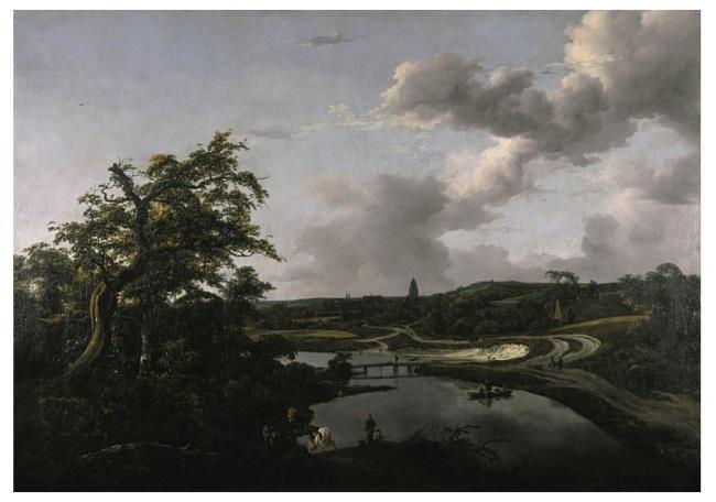 "<a class=""recordlink artists"" href=""/explore/artists/68835"" title=""Jacob van Ruisdael""><span class=""text"">Jacob van Ruisdael</span></a> en toegeschreven aan <a class=""recordlink artists"" href=""/explore/artists/85690"" title=""Philips Wouwerman""><span class=""text"">Philips Wouwerman</span></a>"
