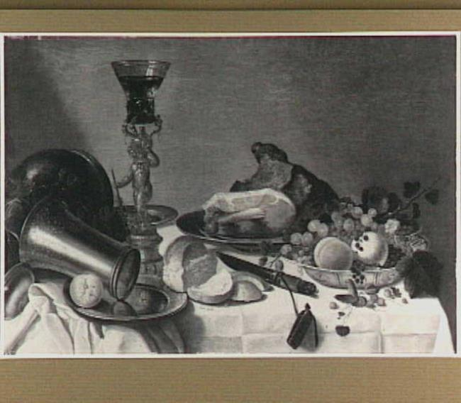 "vrij naar <a class=""recordlink artists"" href=""/explore/artists/17003"" title=""Pieter Claesz.""><span class=""text"">Pieter Claesz.</span></a>"