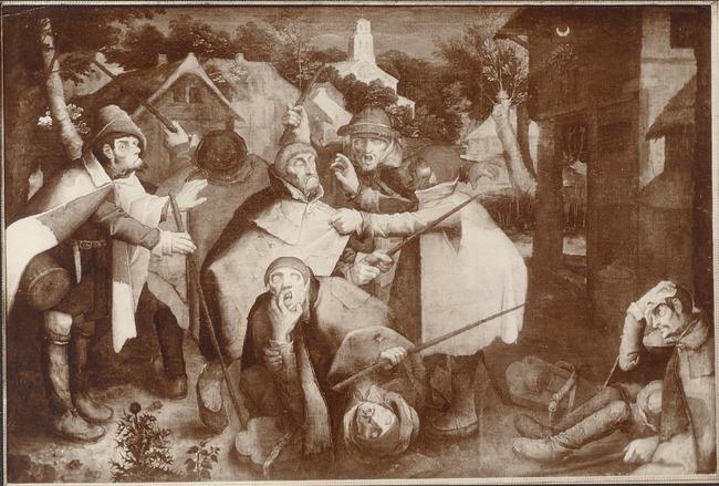 "<a class=""recordlink artists"" href=""/explore/artists/13293"" title=""Pieter Brueghel (II)""><span class=""text"">Pieter Brueghel (II)</span></a> of toegeschreven aan <a class=""recordlink artists"" href=""/explore/artists/125644"" title=""Nicolas Baullery""><span class=""text"">Nicolas Baullery</span></a> mogelijk naar <a class=""recordlink artists"" href=""/explore/artists/13292"" title=""Pieter Bruegel (I)""><span class=""text"">Pieter Bruegel (I)</span></a>"