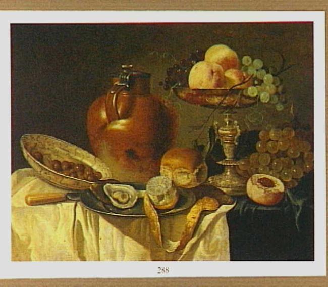 "pastiche naar <a class=""recordlink artists"" href=""/explore/artists/17003"" title=""Pieter Claesz.""><span class=""text"">Pieter Claesz.</span></a>"