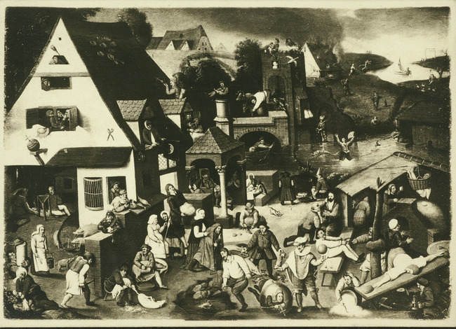 """attributed to <a class=""""recordlink artists"""" href=""""/explore/artists/13293"""" title=""""Pieter Brueghel (II)""""><span class=""""text"""">Pieter Brueghel (II)</span></a> or manner of <a class=""""recordlink artists"""" href=""""/explore/artists/13293"""" title=""""Pieter Brueghel (II)""""><span class=""""text"""">Pieter Brueghel (II)</span></a> after <a class=""""recordlink artists"""" href=""""/explore/artists/13292"""" title=""""Pieter Bruegel (I)""""><span class=""""text"""">Pieter Bruegel (I)</span></a>"""
