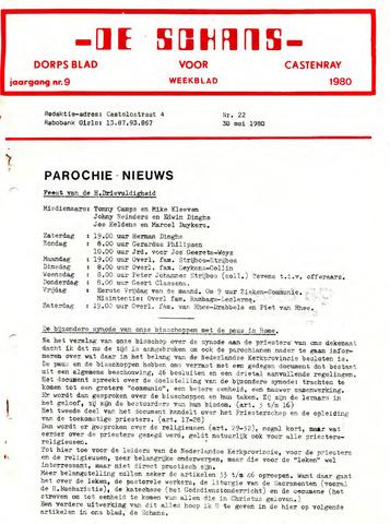 Castenrays dorpsblad De Schans 1980-05-30