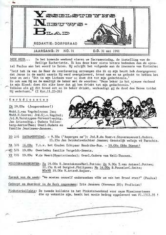 Ysselsteyns Nieuwsblad 1991-05-31