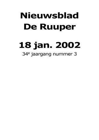 Dorpsblad Leunen-Veulen-Heide 2002-01-18