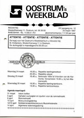 Oostrum's Weekblad 1997-03-20