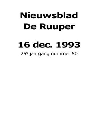 Dorpsblad Leunen-Veulen-Heide 1993-12-16