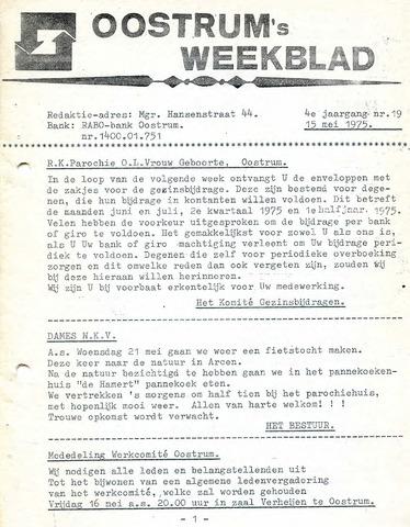 Oostrum's Weekblad 1975-05-15
