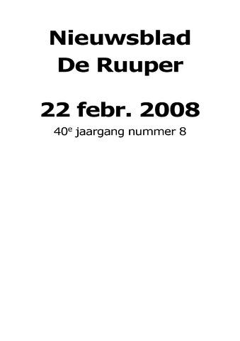 Dorpsblad Leunen-Veulen-Heide 2008-02-22