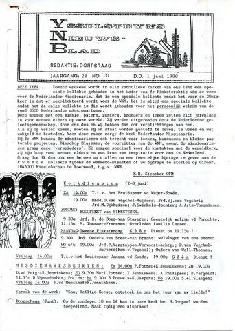 Ysselsteyns Nieuwsblad 1990-06-01