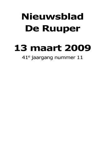 Dorpsblad Leunen-Veulen-Heide 2009-03-13