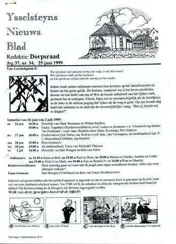 Ysselsteyns Nieuwsblad 1999-06-25