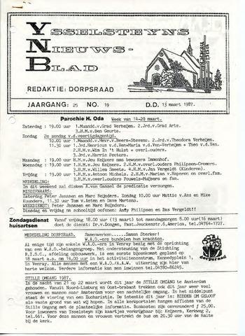 Ysselsteyns Nieuwsblad 1987-03-13