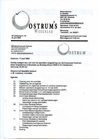 Oostrum's Weekblad 2005-06-23