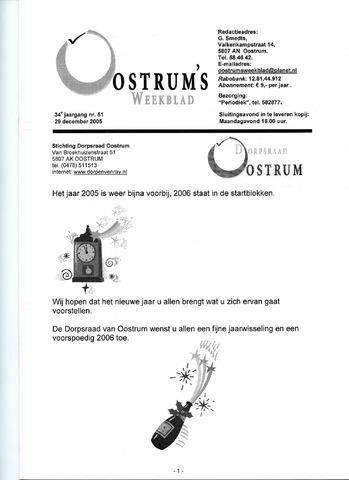 Oostrum's Weekblad 2005-12-29