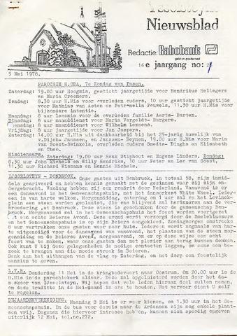 Ysselsteyns Nieuwsblad 1978-05-05