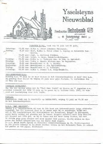 Ysselsteyns Nieuwsblad 1979-07-13