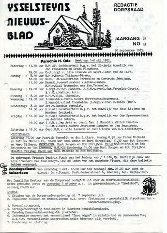 Ysselsteyns Nieuwsblad 1983-09-30