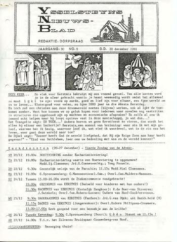 Ysselsteyns Nieuwsblad 1991-12-20