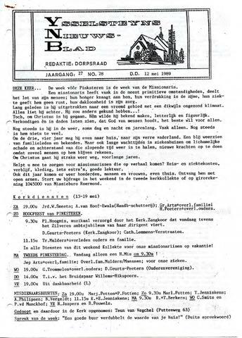 Ysselsteyns Nieuwsblad 1989-05-12