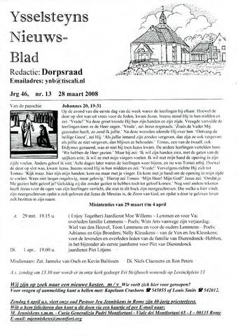 Ysselsteyns Nieuwsblad 2008-03-28
