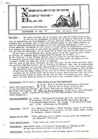 Ysselsteyns Nieuwsblad 1988-03-18