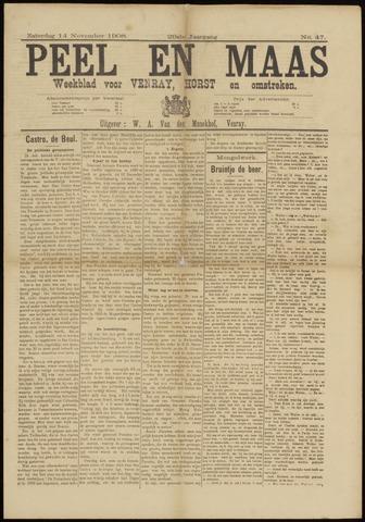 Peel en Maas 1908-11-14
