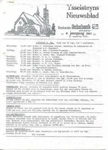 Ysselsteyns Nieuwsblad 1979-08-24