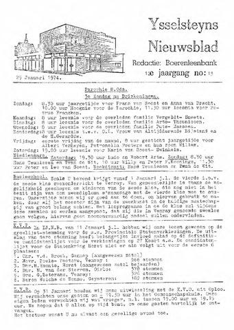 Ysselsteyns Nieuwsblad 1974-01-25