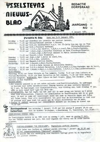 Ysselsteyns Nieuwsblad 1984-01-06