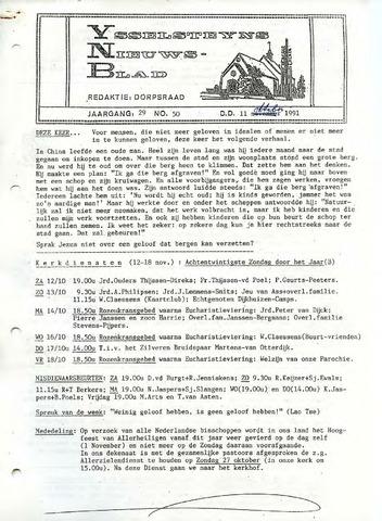 Ysselsteyns Nieuwsblad 1991-10-11