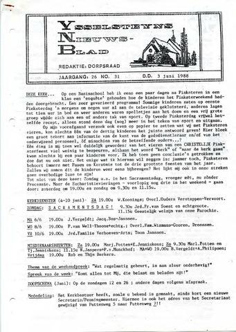 Ysselsteyns Nieuwsblad 1988-06-03