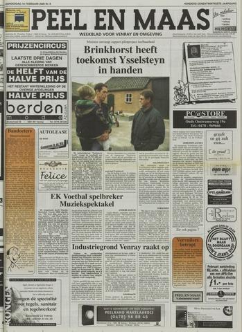 Peel en Maas 2000-02-10