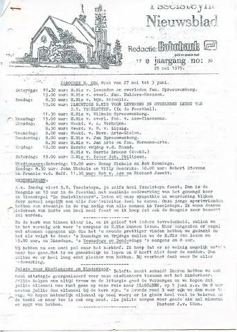 Ysselsteyns Nieuwsblad 1979-05-25