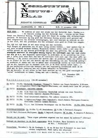 Ysselsteyns Nieuwsblad 1990-11-23