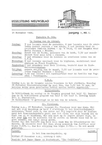 Ysselsteyns Nieuwsblad 1966-11-24